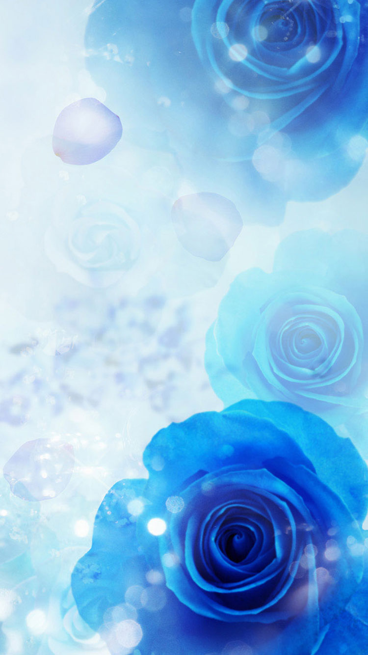 Blue IPhone Wallpaper 5