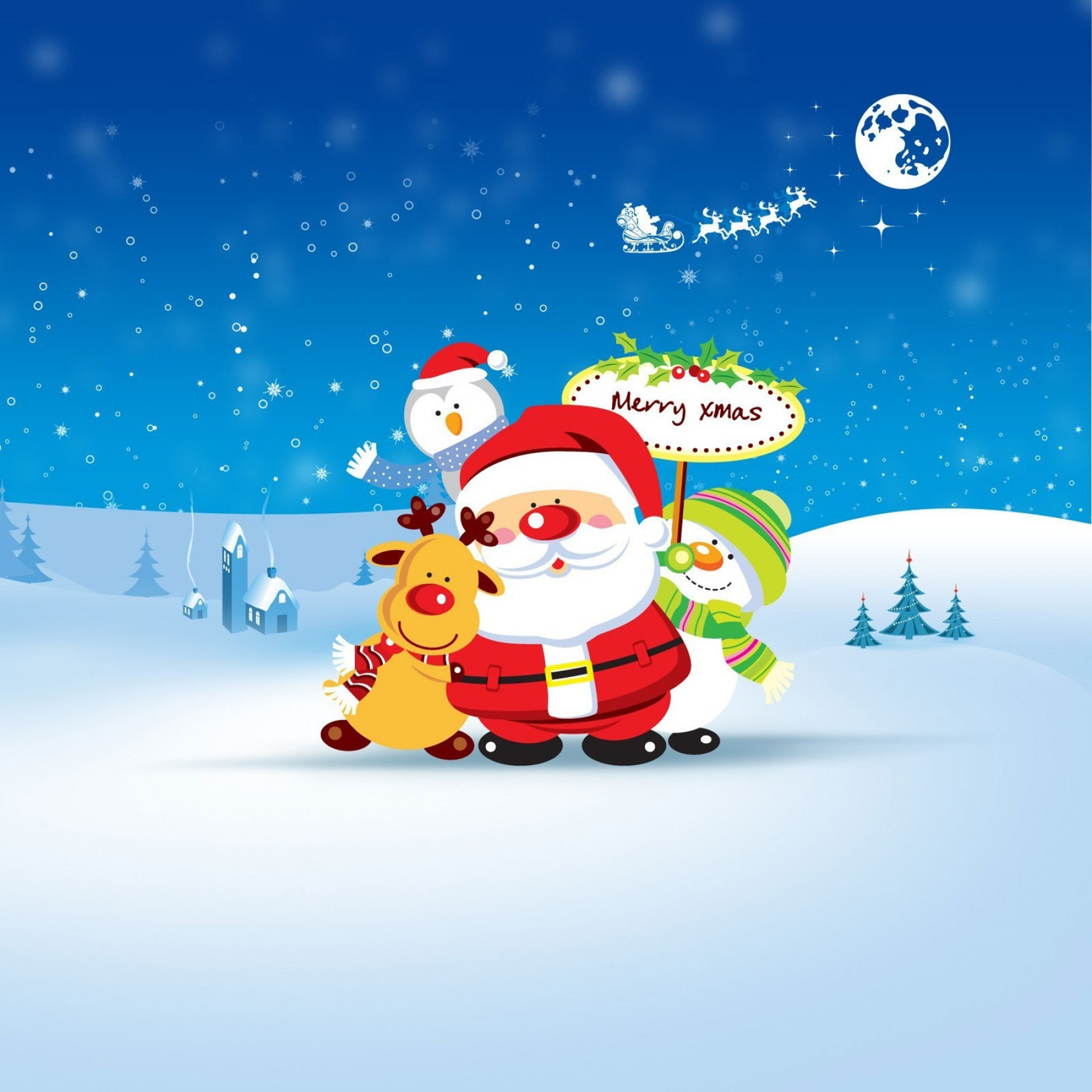 25 christmas ipad wallpapers