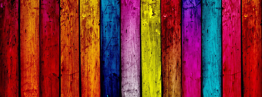 35 Colorful Facebook Covers