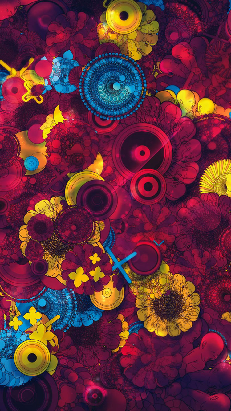 Colorful iPhone Background 34