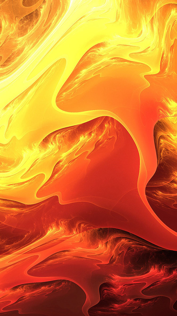 Fire Art iPhone Wallpaper 10