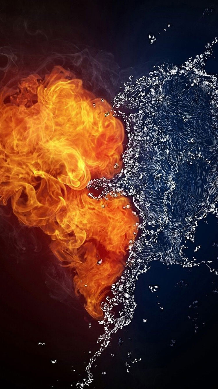 Fire Art iPhone Wallpaper 17