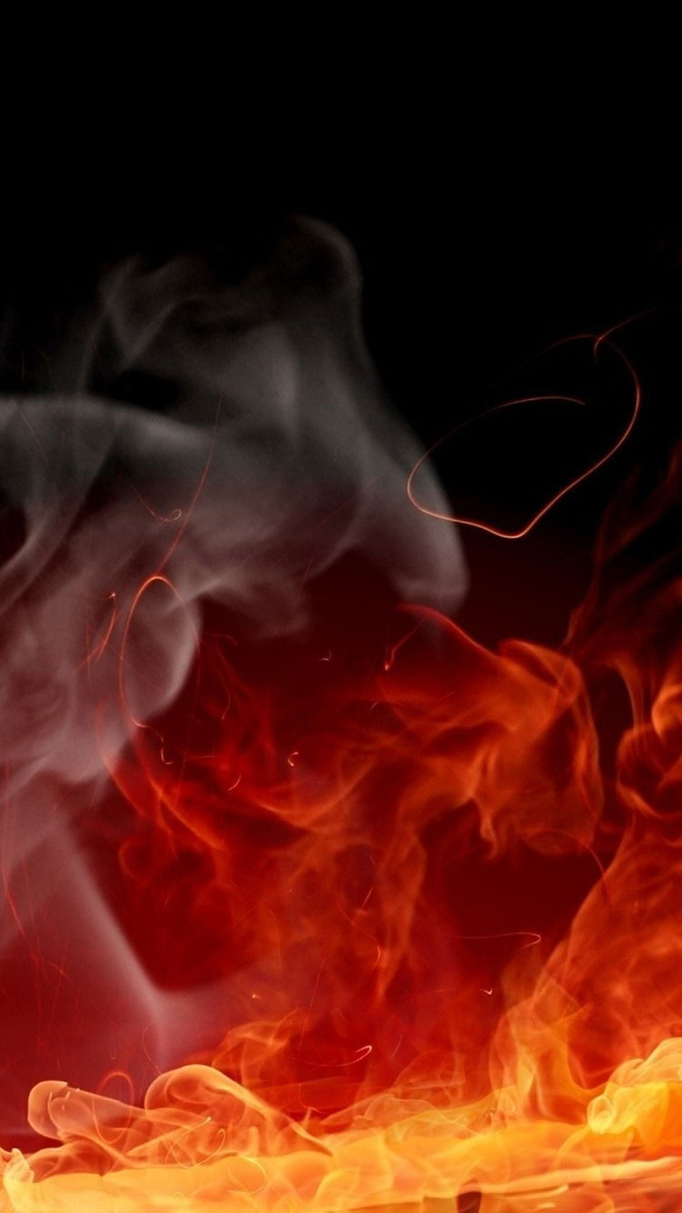 Fire Art iPhone Wallpaper 18