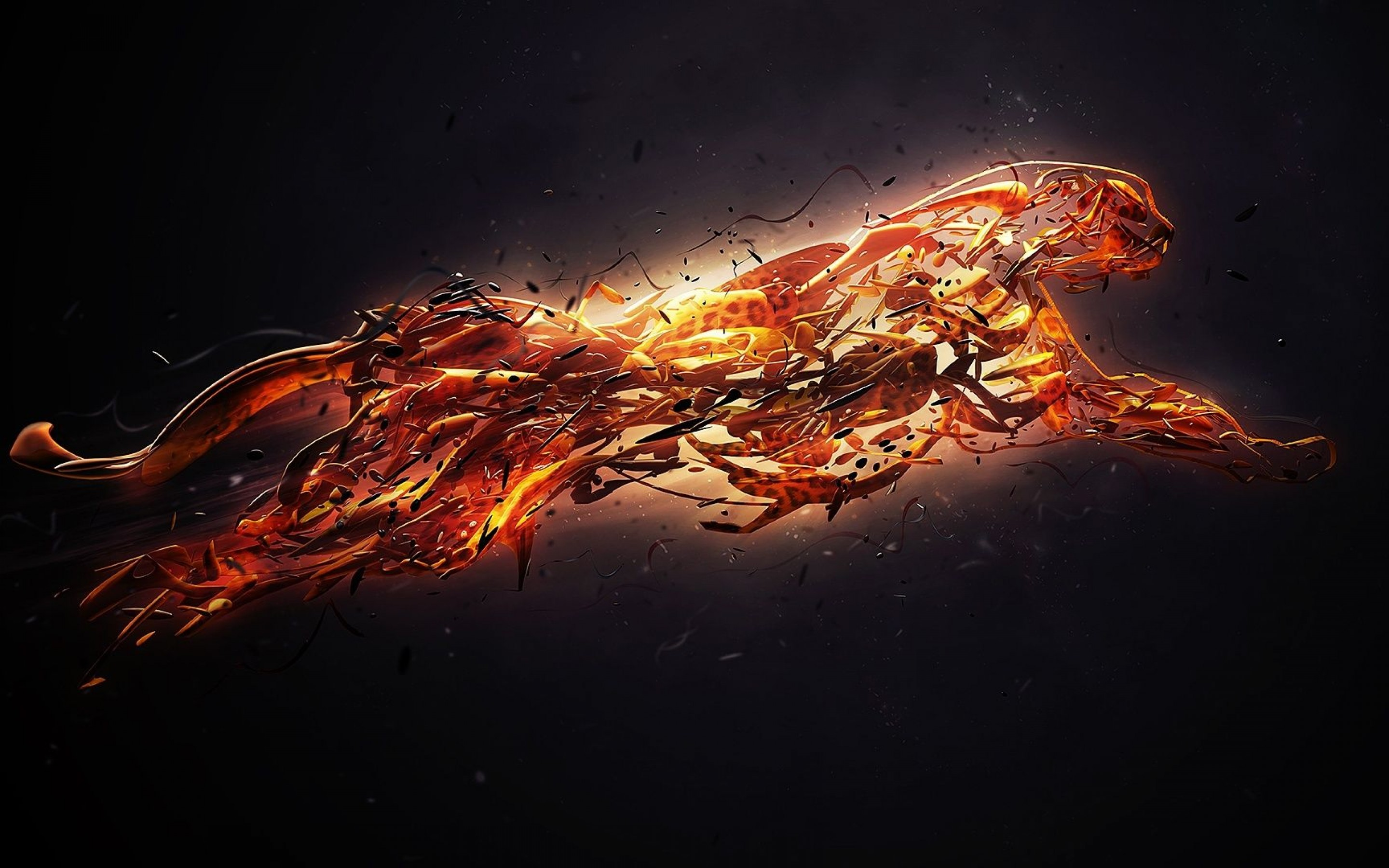 20 Fire Art Wallpapers