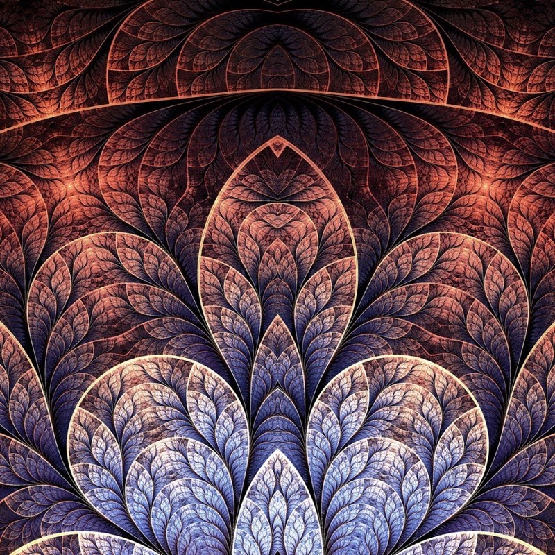 Fractal Art iPad Wallpaper 23
