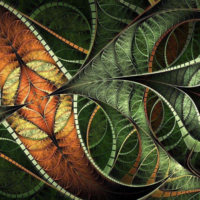 Fractal Art iPad Wallpaper 3