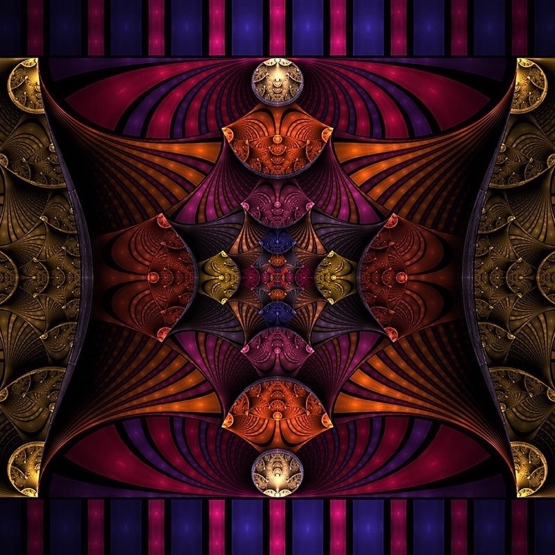Fractal Art iPad Wallpaper 36