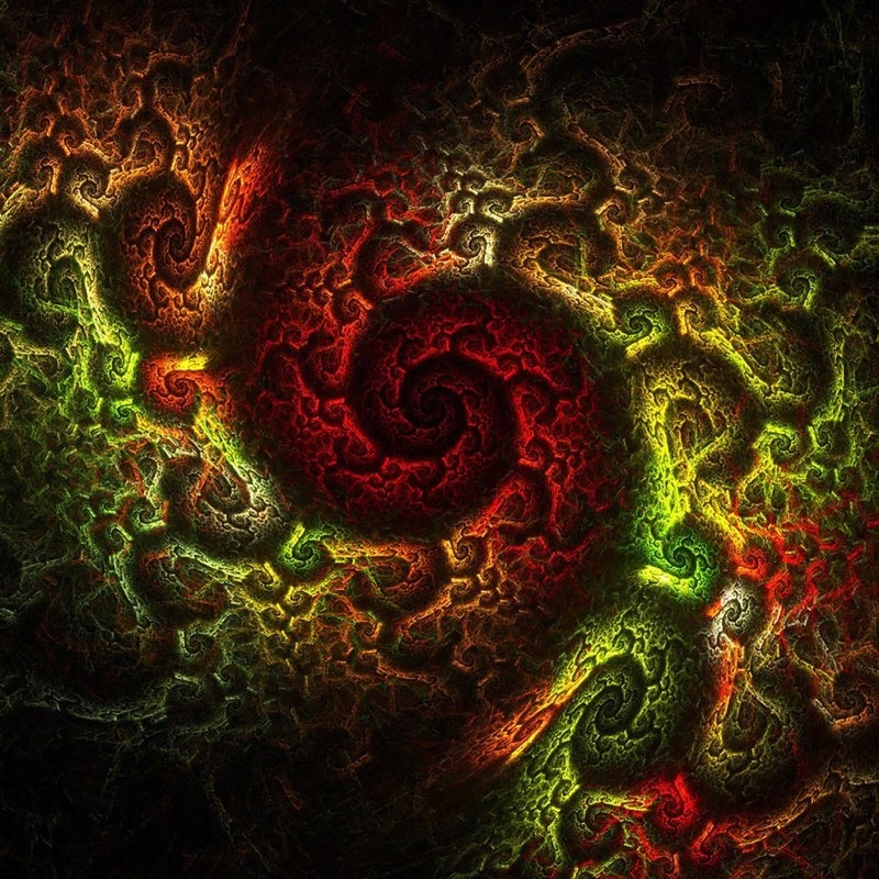 Fractal Art iPad Wallpaper 43