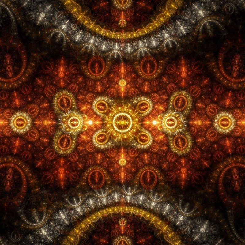 Fractal Art iPad Wallpaper 45