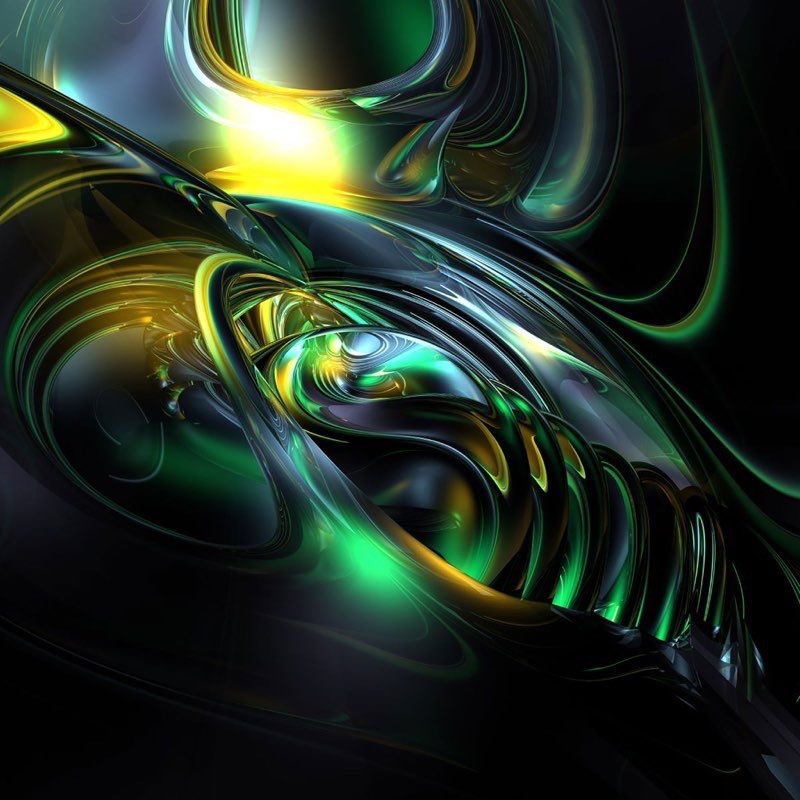 Fractal Art iPad Wallpaper 8