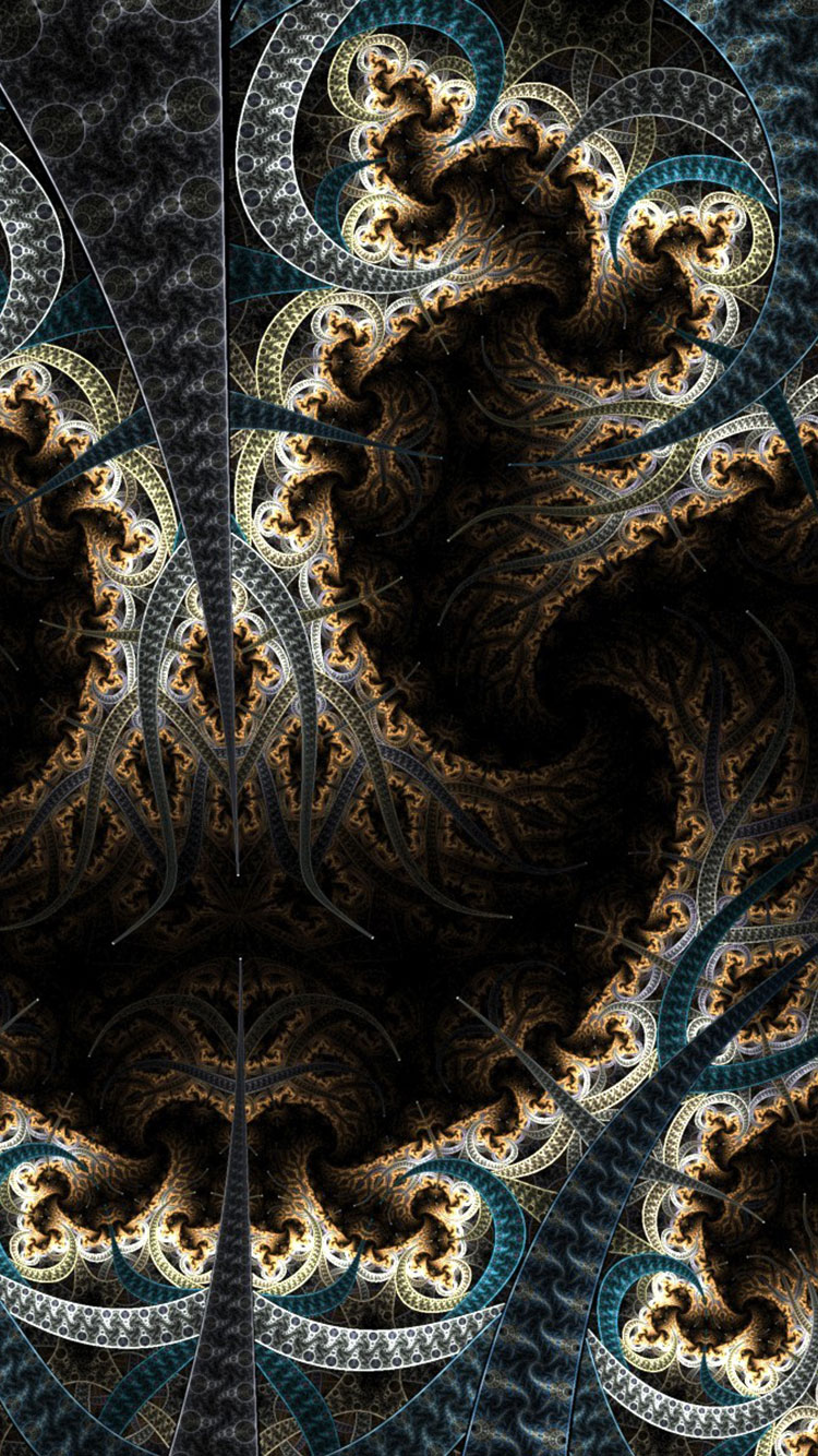 Fractal Art iPhone Wallpaper 10