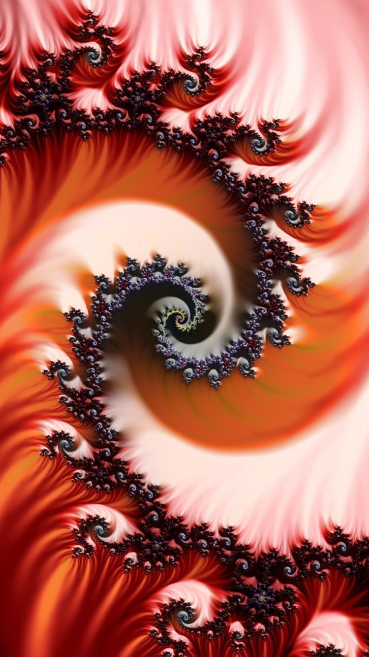 Fractal Art iPhone Wallpaper 11