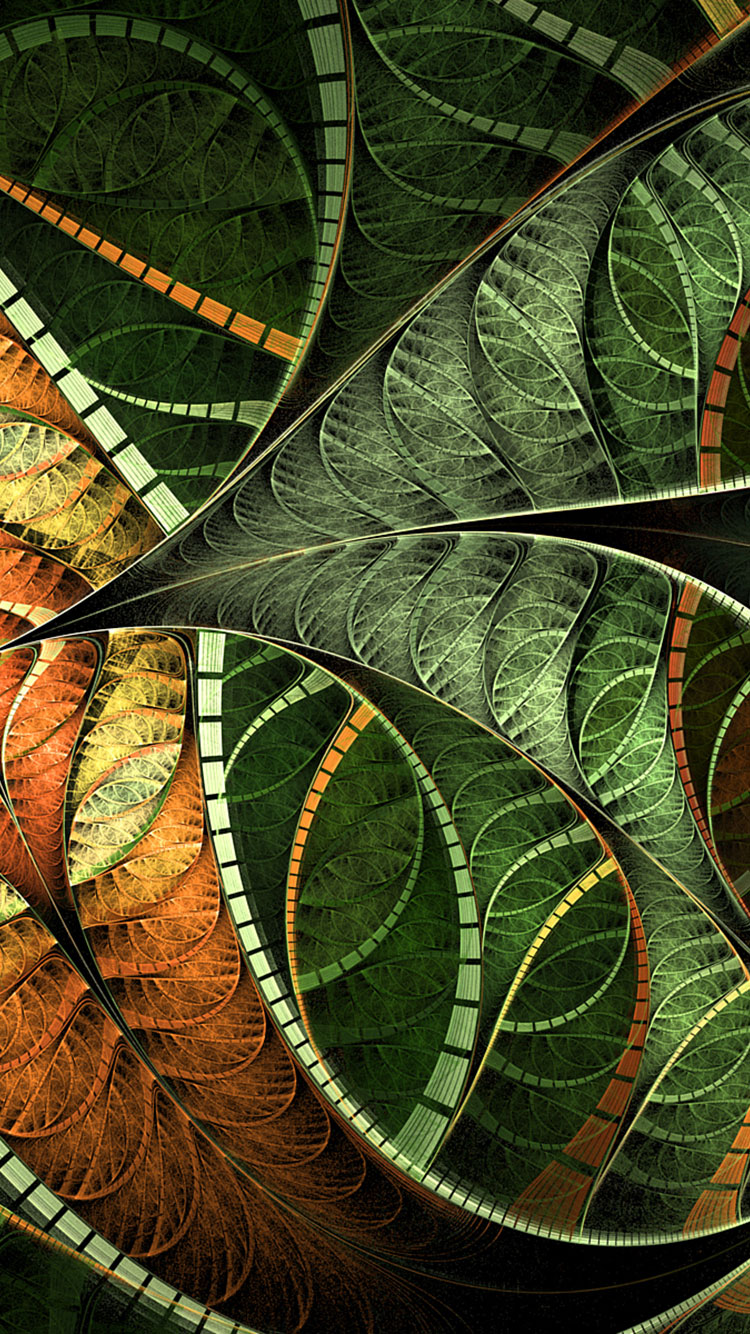 Fractal Art iPhone Wallpaper 3
