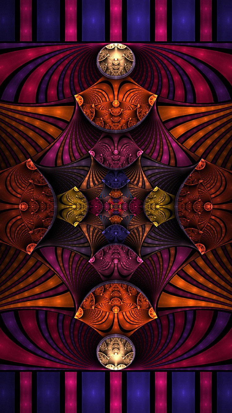 Fractal Art iPhone Wallpaper 36