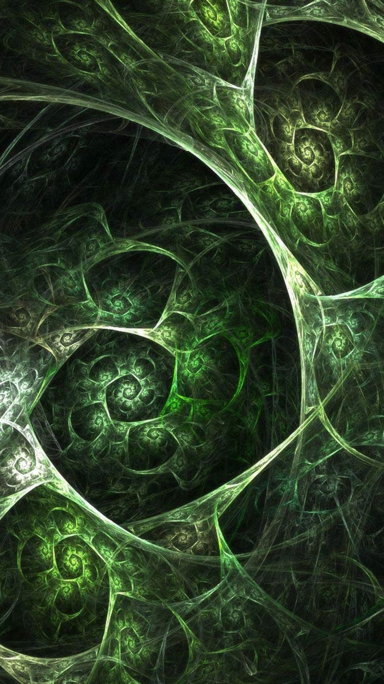 Fractal Art iPhone Wallpaper 46