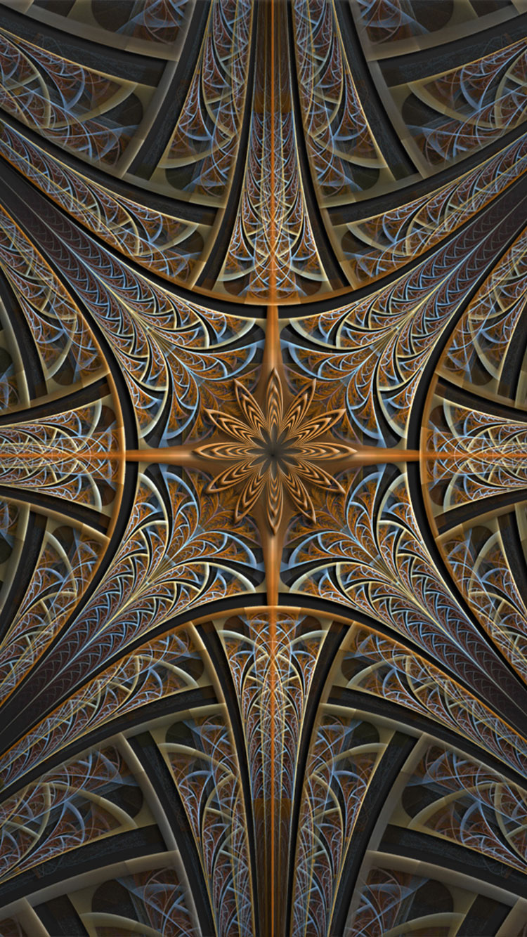 Fractal Art iPhone Wallpaper 5
