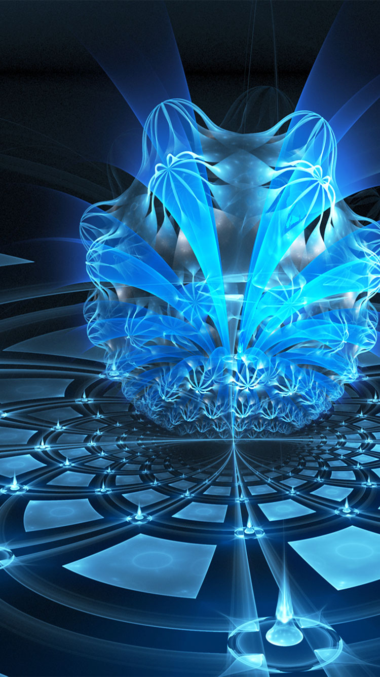 Fractal Art iPhone Wallpaper 7