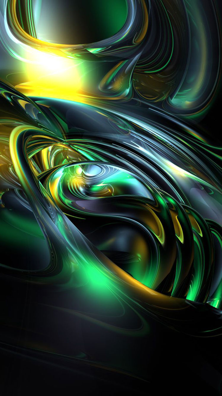 Fractal Art iPhone Wallpaper 8