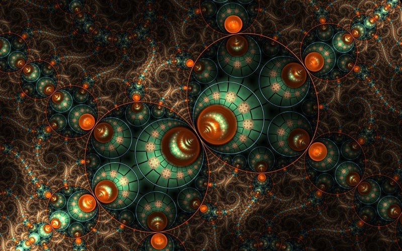 Fractal Art Wallpaper 9