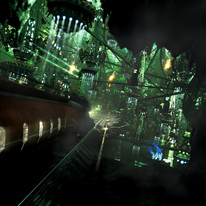 Futuristic City iPad Wallpaper 14