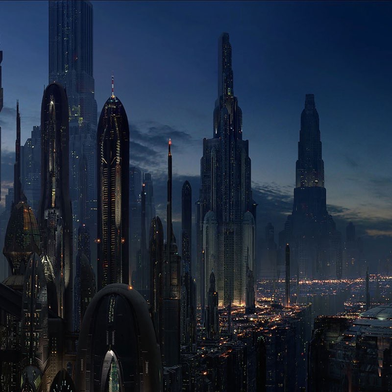 Futuristic City iPad Wallpaper 29