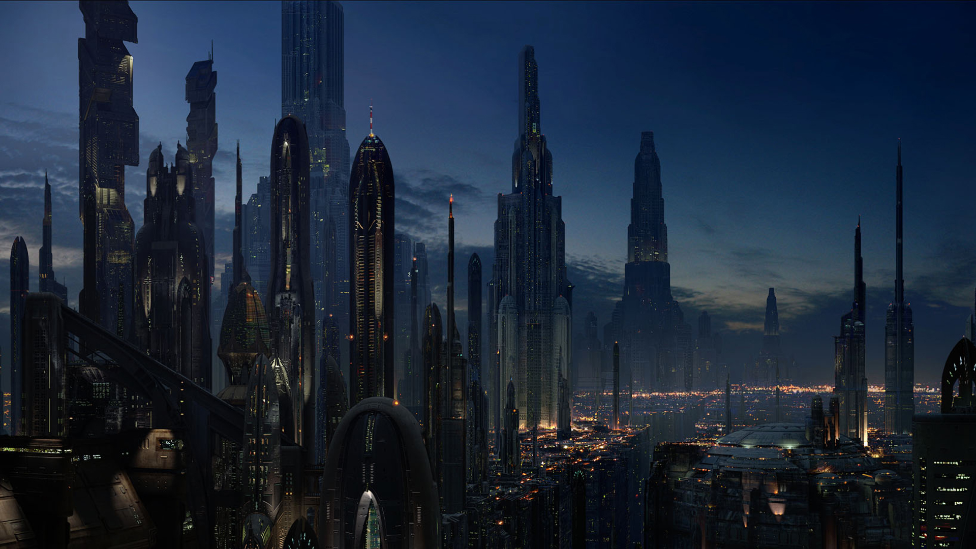 art futuristic cities - photo #24