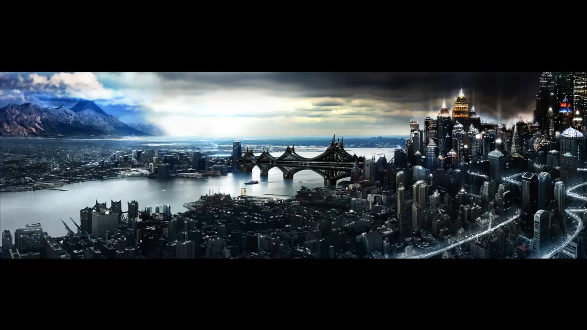 Futuristic City Wallpaper 31