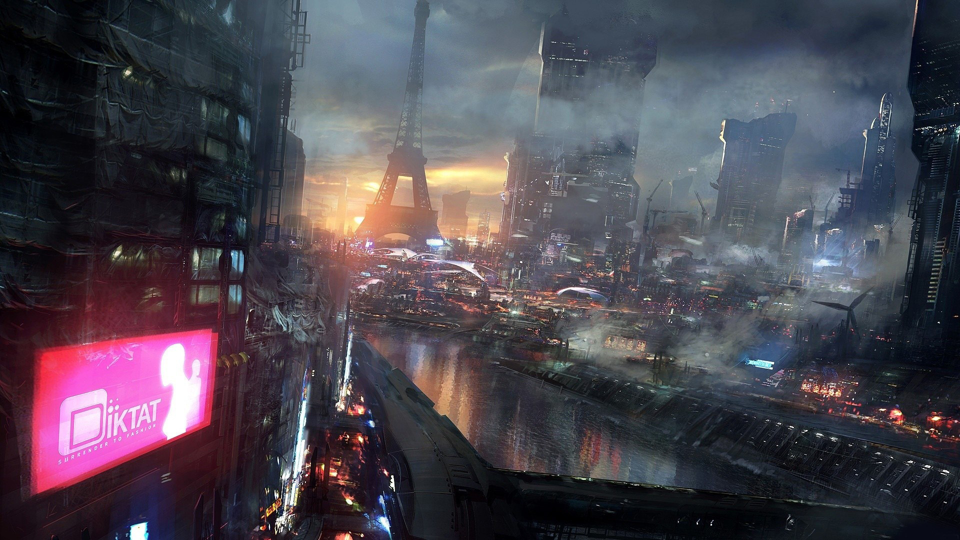 50 futuristic city wallpapers for The latest wallpaper designs