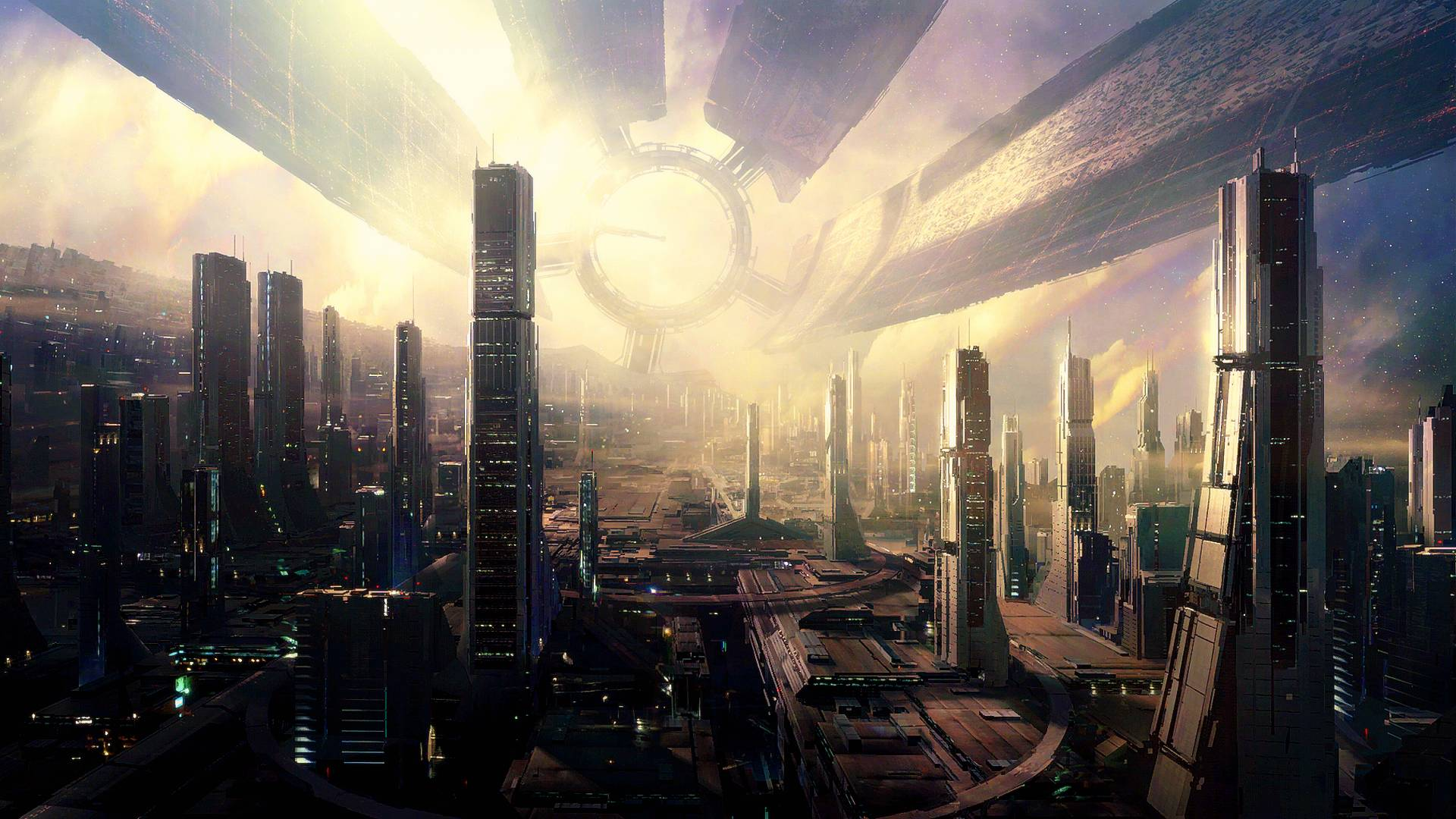 50 futuristic city wallpapers for In the city wallpaper