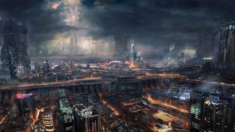 Futuristic City Wallpaper 12
