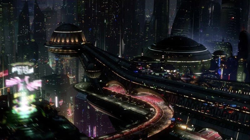 Futuristic City Wallpaper 22