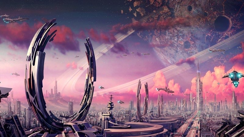 Futuristic City Wallpaper 25
