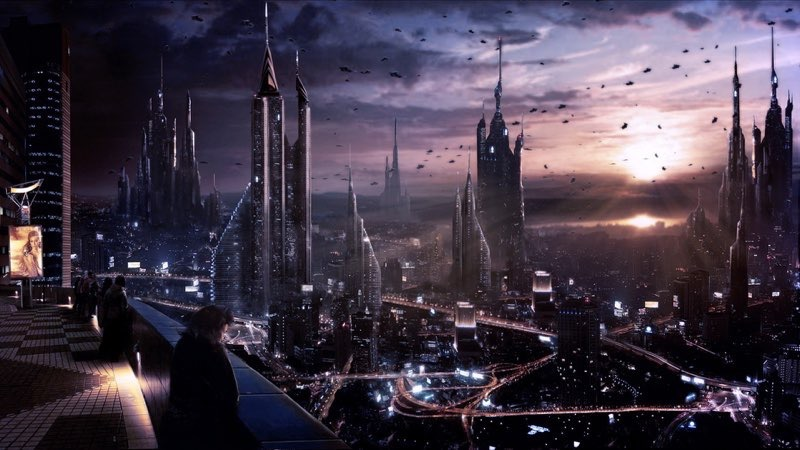 Futuristic City Wallpaper 26