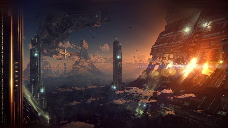 Futuristic City Wallpaper 28