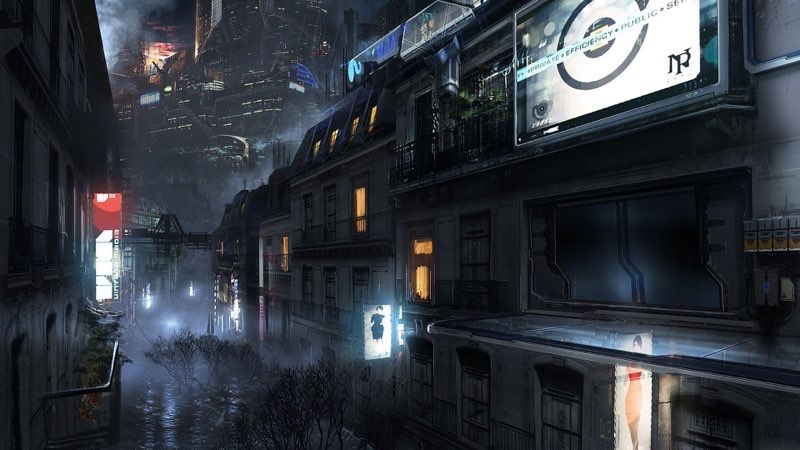 Futuristic City Wallpaper 32