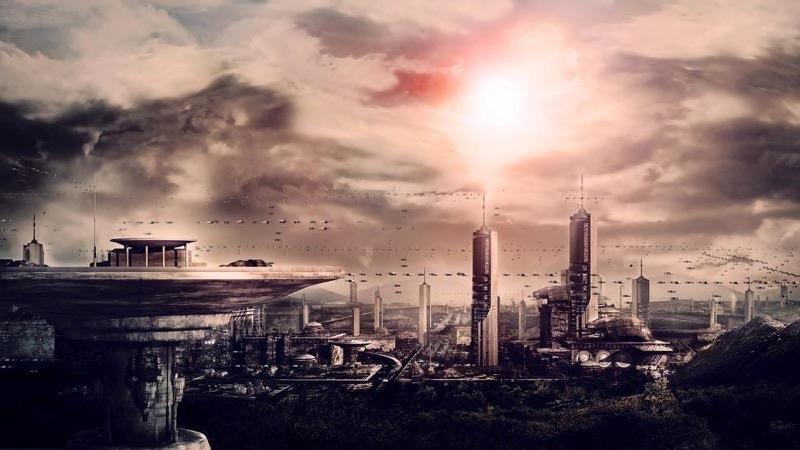 Futuristic City Wallpaper 33