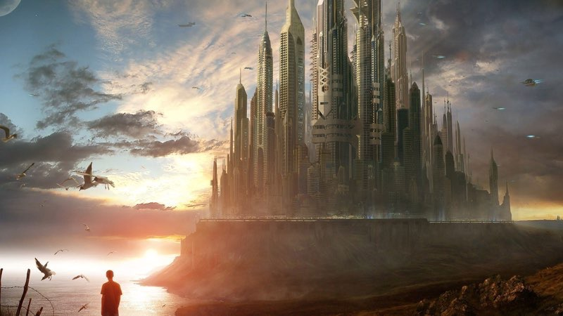Futuristic City Wallpaper 37