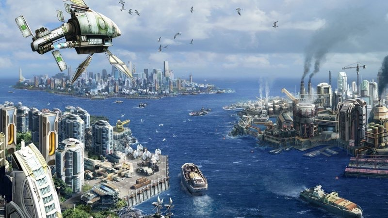 Futuristic City Wallpaper 39