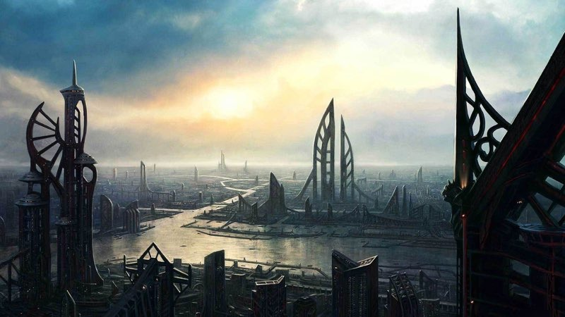 Futuristic City Wallpaper 40