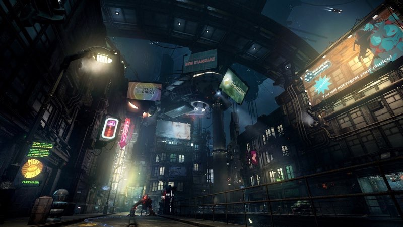 Futuristic City Wallpaper 44