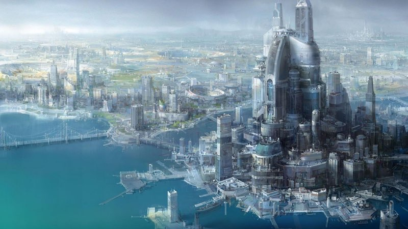 Futuristic City Wallpaper 5