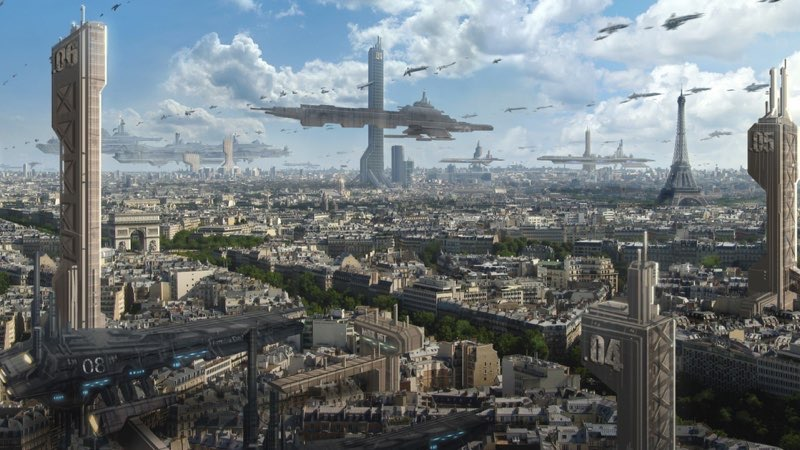 Futuristic City Wallpaper 9