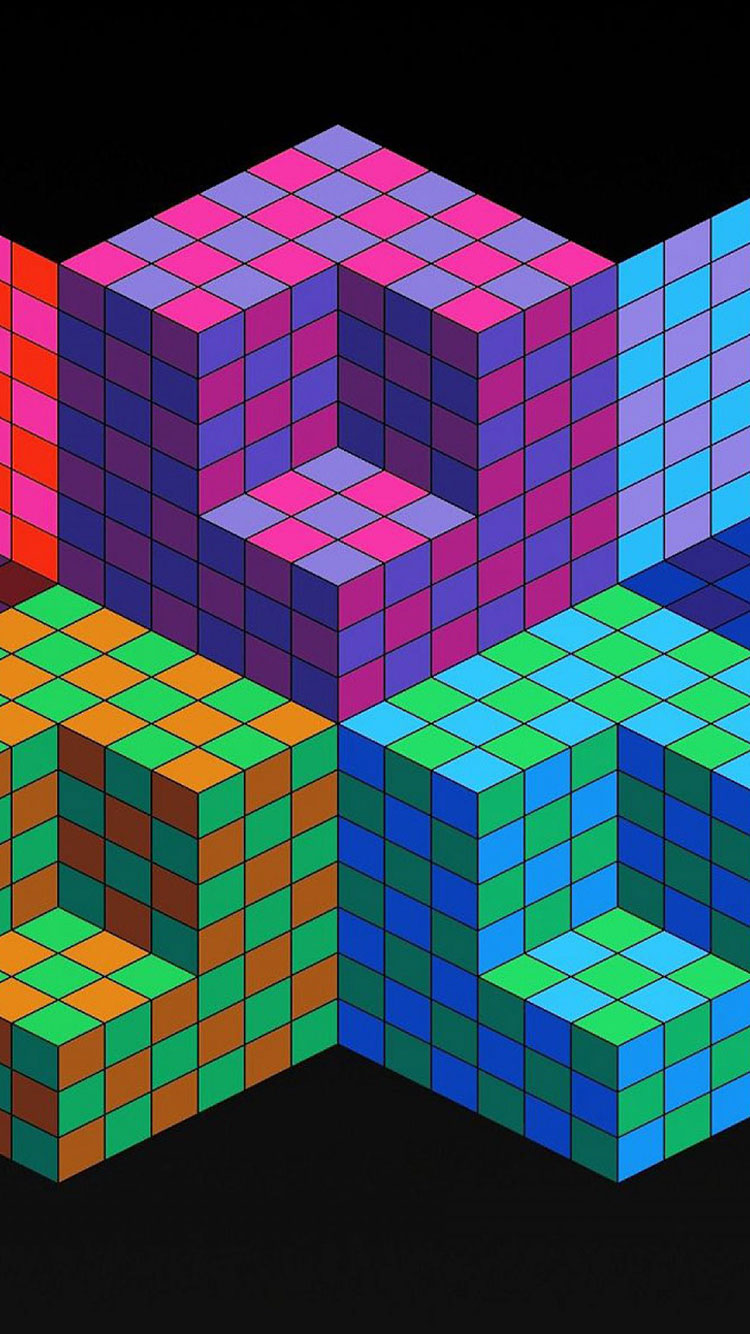 Geometric iPhone Wallpaper 3