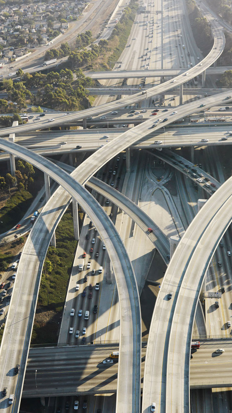 Los Angeles Freeways iPhone