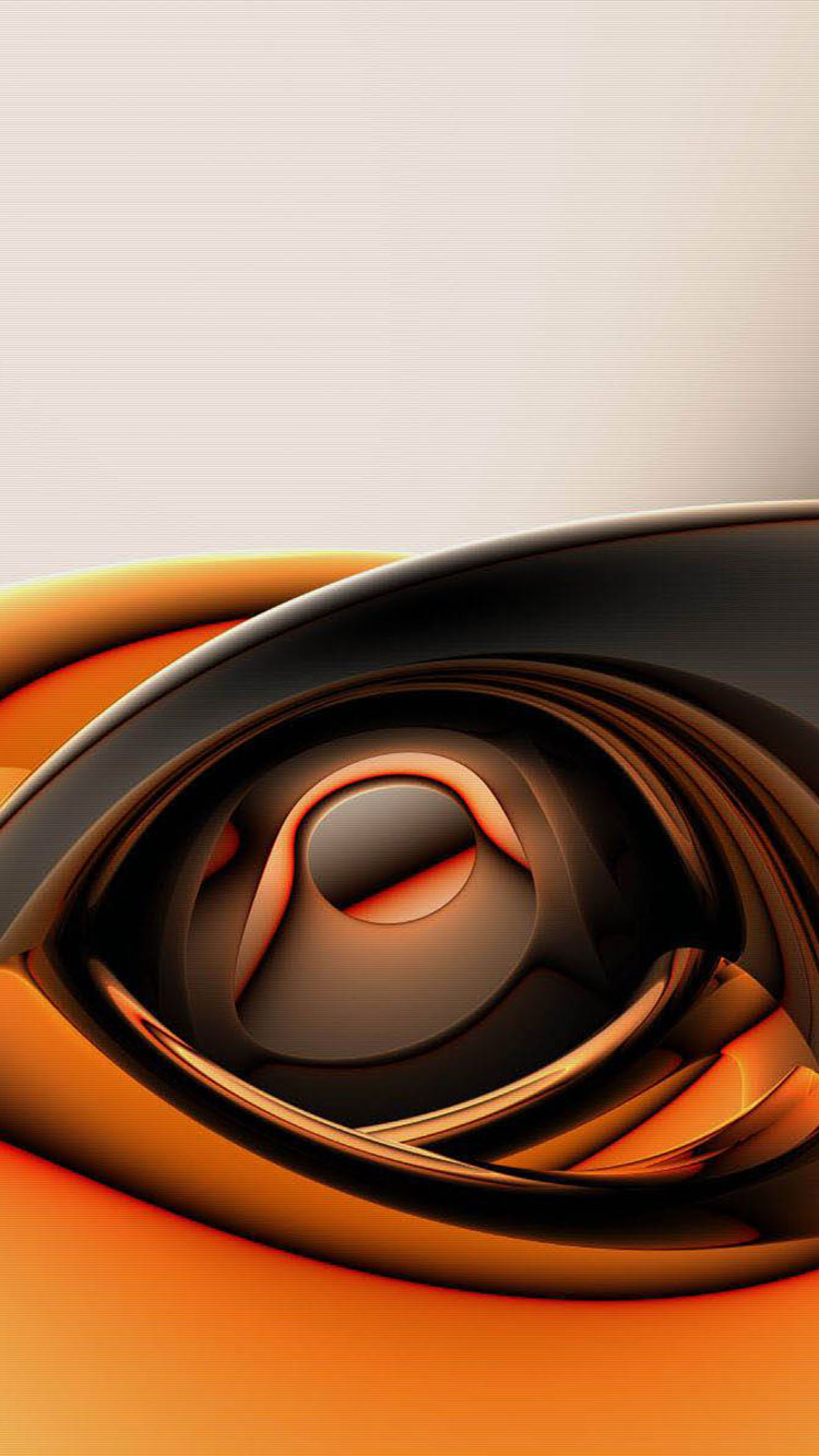 Orange iPhone Wallpaper 21