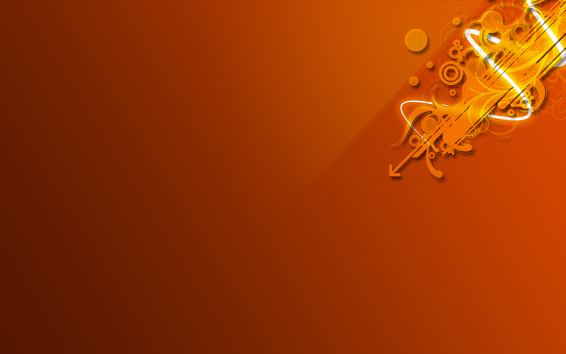 Wallpaper Orange Design : Orange design wallpaper