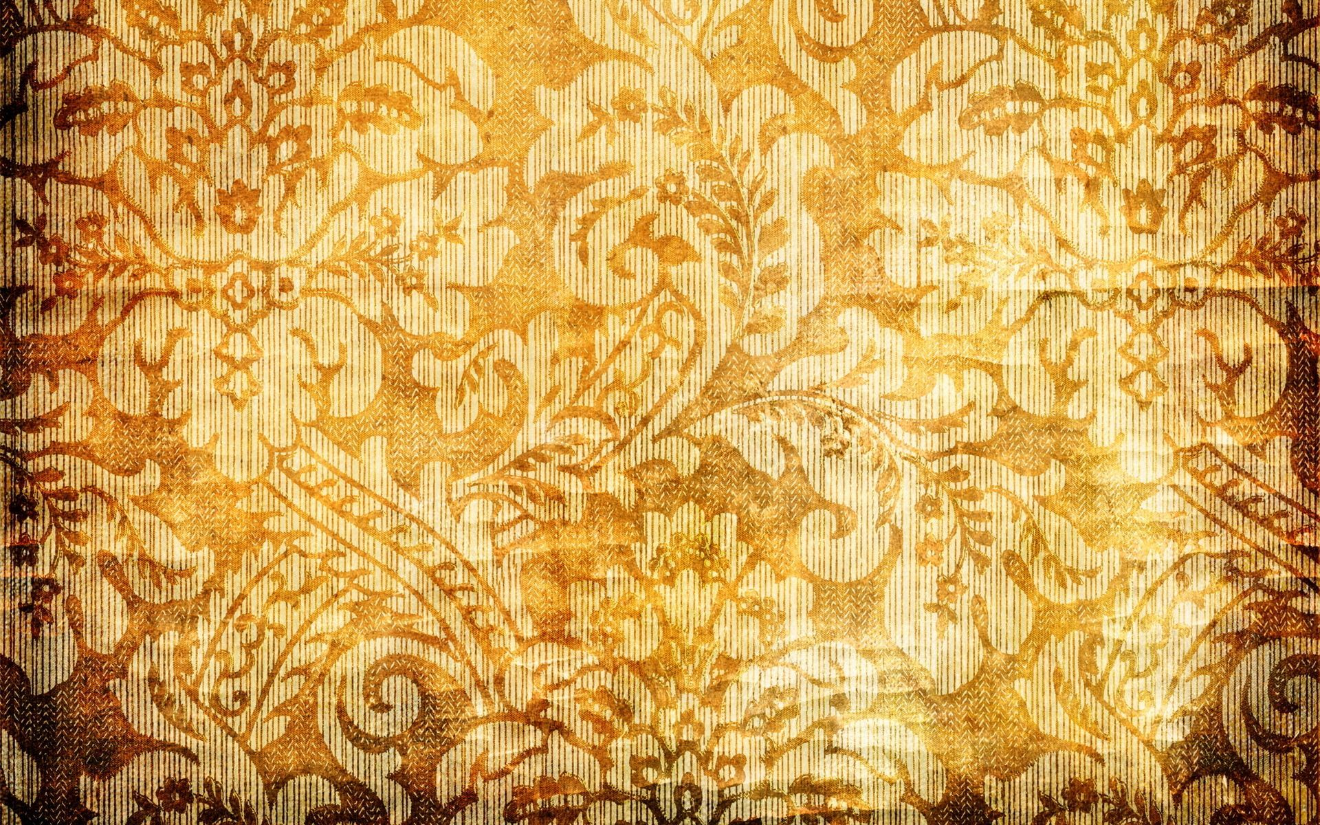 30 hd orange wallpapers for Gold wallpaper designs