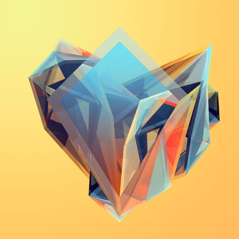 Polygon iPad Wallpaper 11
