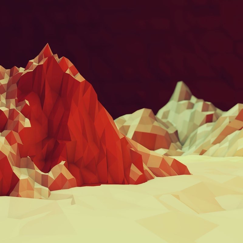 Polygon iPad Wallpaper 21