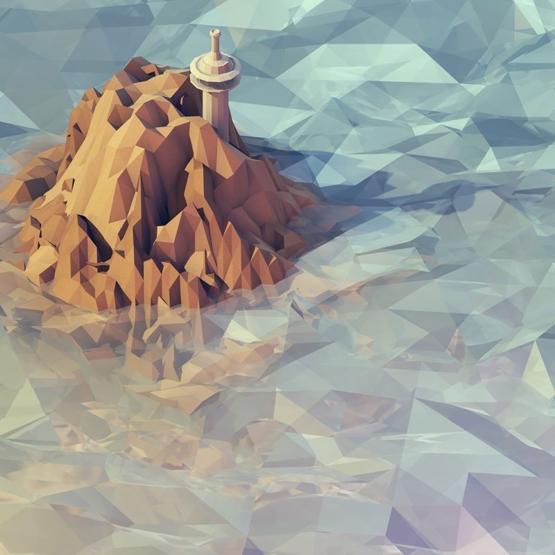 Polygon iPad Wallpaper 22